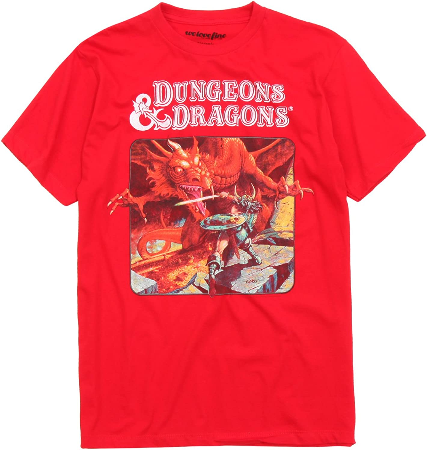Dungeons /& Dragons Inspired D/&D KIDS Tee Tshirt
