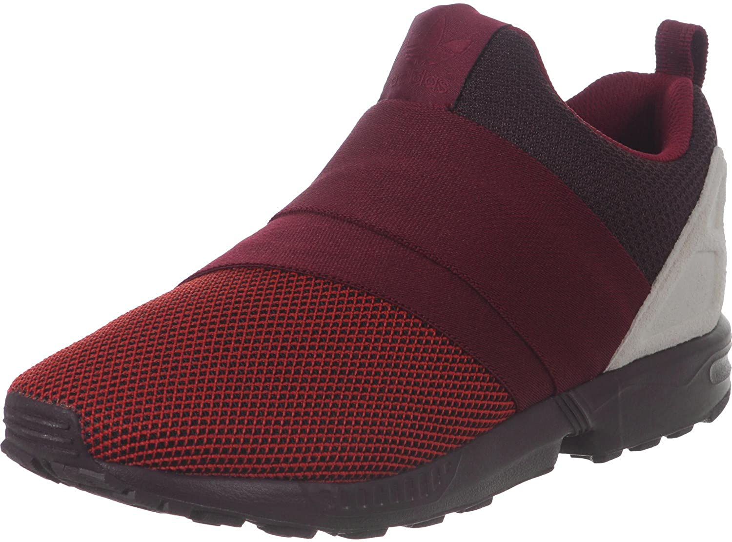 ed56abd374673 adidas Mens Originals Mens ZX Flux Slip On Trainers in Red - UK 6.5   Amazon.co.uk  Shoes   Bags