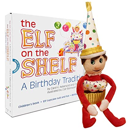 Amazon Elf On The Shelf A Birthday Tradition By The Elf On The
