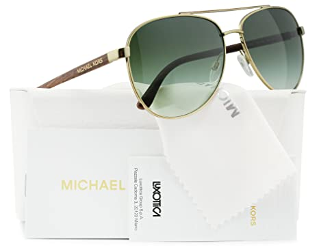 811c3e14f6 Image Unavailable. Image not available for. Color  Michael Kors MK5007 Hvar  Sunglasses Gold ...