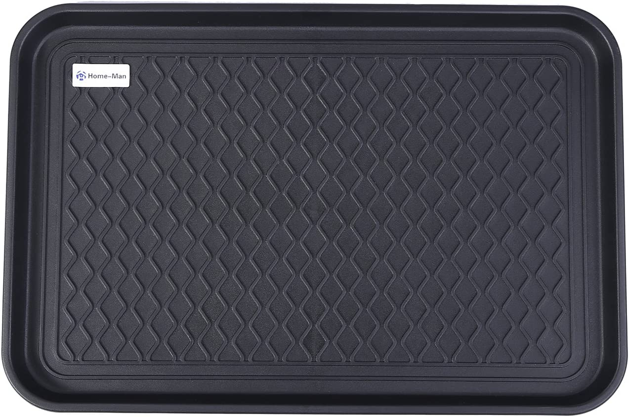Home-Man Multi-Purpose Boot Tray Mat,Shoe Tray Mat,Pet Bowl Tray,Waterproof Trays for Indoor and Outdoor Floor Protection,24