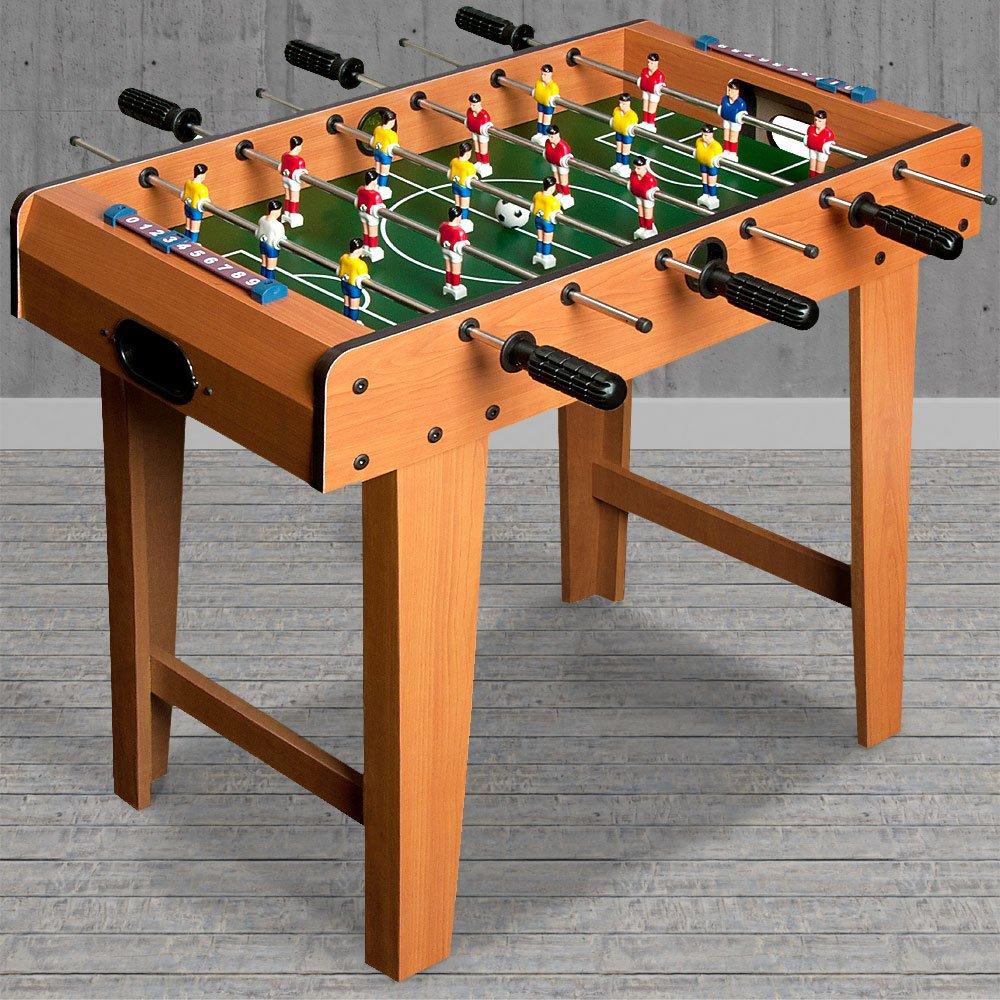 Mini Baby foot - Hauteur 62 cm - Table de babyfoot 18 mini joueurs jeux  Football  Amazon.fr  Sports et Loisirs 139a99defcb2