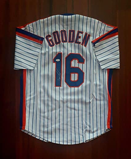 best service e2017 26e15 Doc Gooden Autographed Signed Jersey New York Mets JSA at ...