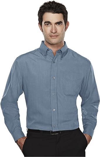 tri-mountain Hombres Camisa De resistente a las arrugas