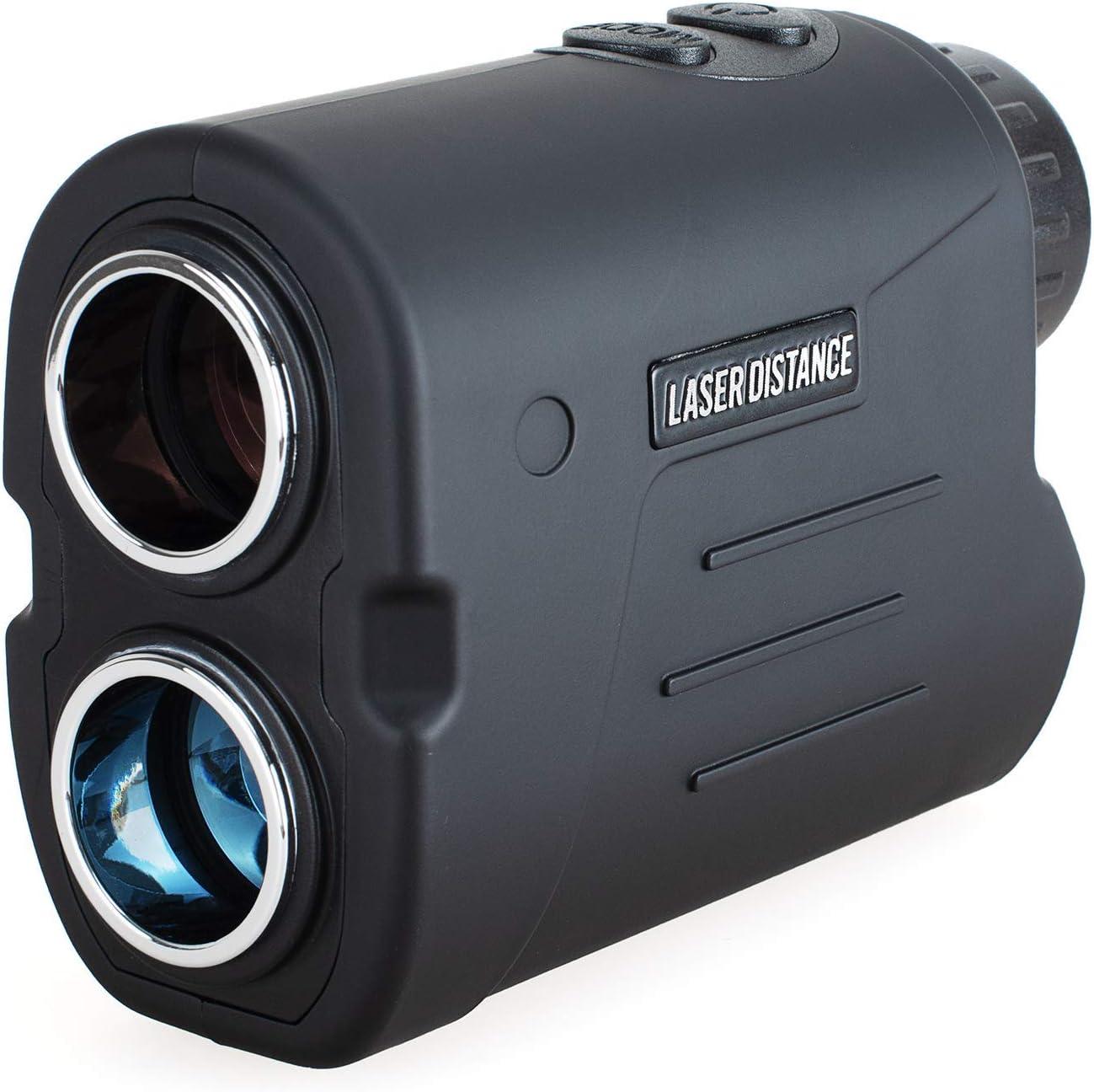 Gogogo Sport Laser Golf//Hunting Rangefinder Renewed 6X Magnification Clear View 650//900 Yards Laser Range Finder Accurate Scan Slope Function Pin-Seeker /& Flag-Lock /& Vibration Easy-to-Use Range Finder