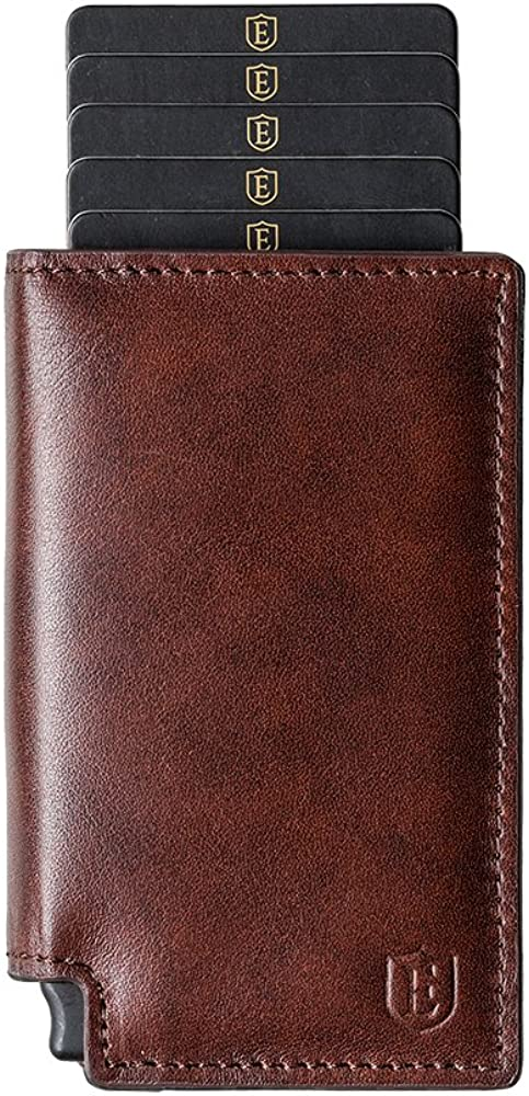 Ekster Parliament Slim Leather Wallet With RFID Blocking Best Minimalist Wallet Review