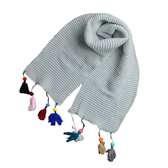 bufandas para niños, RETUROM Moda Otoño Invierno Niñas Niñas Bufanda ...