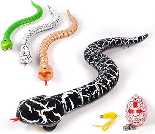 Amazon.com: Realistic Remote Control RC Snake, Alonea Rechargeable  Simulation Toy with Shaped Infrared Controller, Funny Animal Toy Cobra Snake  King/Long Fake Cobra Animal for Christmas Hallowene Gift (Orange): Arts,  Crafts & Sewing