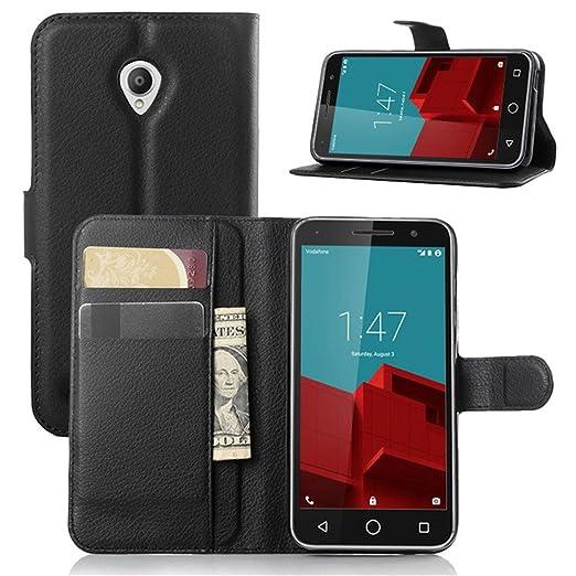 8 opinioni per Custodia Vodafone Smart Prime 6 Case, Vikoo Flip Cover in Pelle PU Case