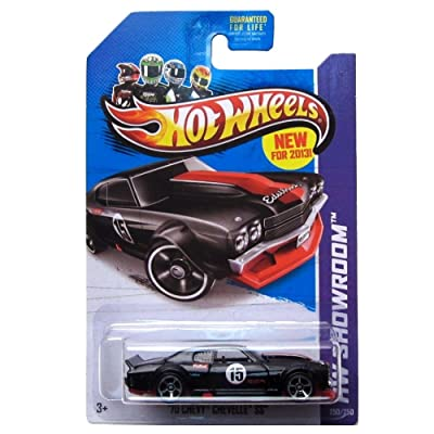 Hot Wheels HW Showroom '70 Chevy Chevelle SS Black #250/250: Toys & Games