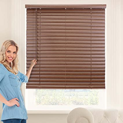 Amazon Com Chicology Cordless 2 Inch Vinyl Mini Blinds Window