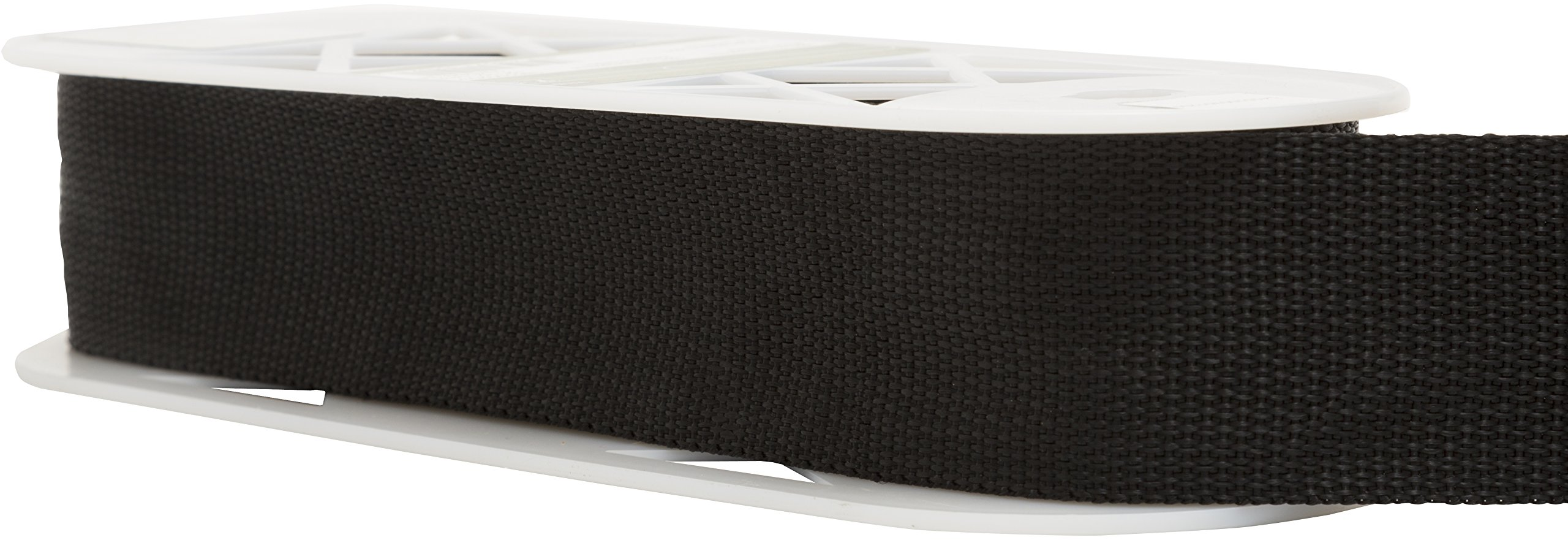 Wright Products Polyester Webbing 2'' Wide 10 Yards-Black (186 1002-031)