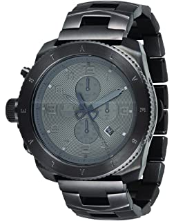 Vestal Mens Restrictor Stainless Steel Watch