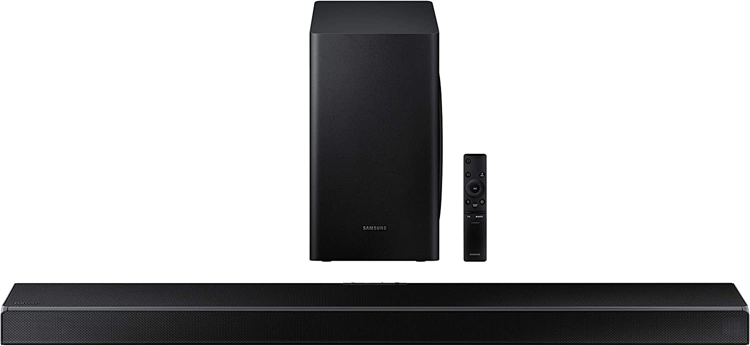 SAMSUNG HW-Q60T 5.1ch Soundbar with 3D Surround Sound and Acoustic Beam (2020)
