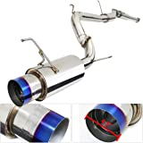 2.5inch Catback Exhaust System Stainless Steel With 4.5