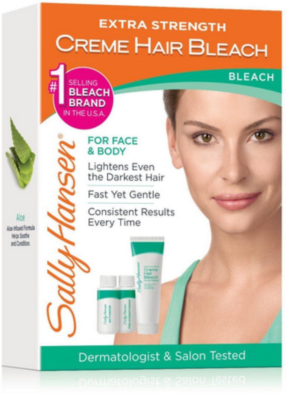 Sally Hansen Extra Strength Creme Hair Bleach, 1 kit (Pack of 7)