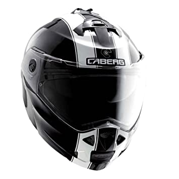 Caberg Duke Legend negro/blanco casco de moto