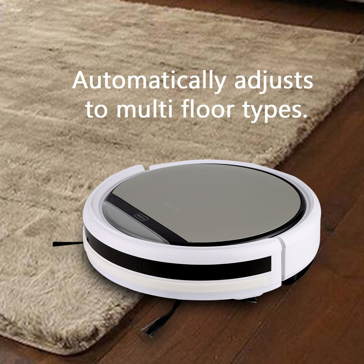 Cleaner Smart Robot Vacuum Cleaning Floor Auto Dust Microfiber Robotic Sweeper Mop Automatic by Alek...Shop (Image #5)
