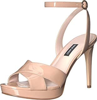 93dc4c49c512 Amazon.com  Nine West Women s Bellen Synthetic Heeled Sandal  Shoes