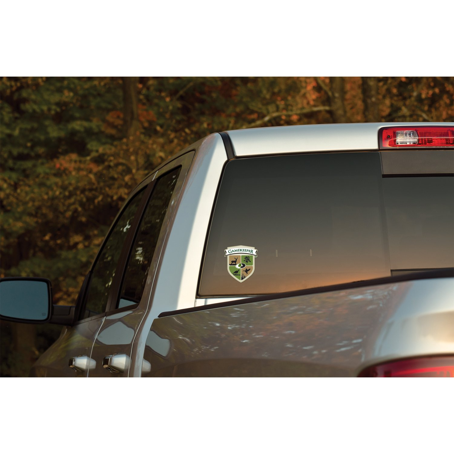13028-L Large Gamekeepers Shield Decal Mossy Oak Graphics