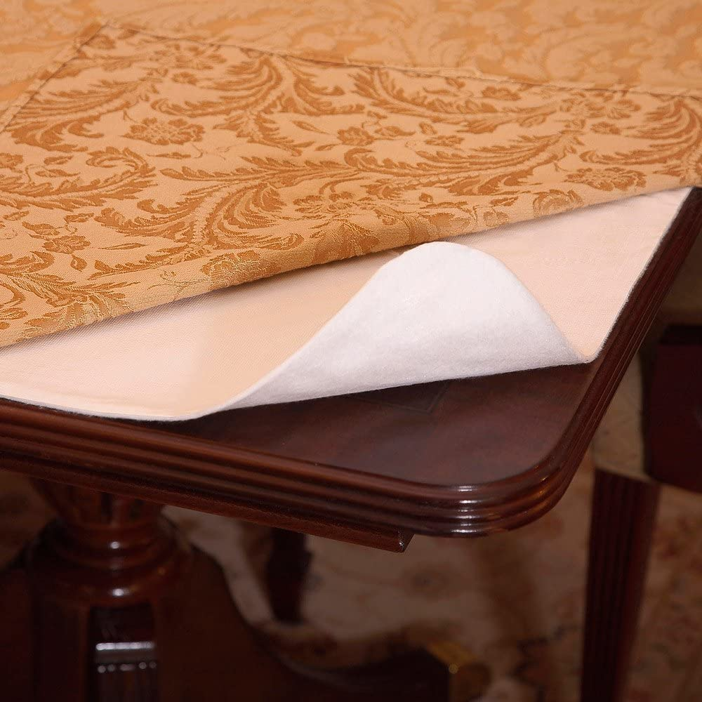 "LAMINET Deluxe Cushioned Heavy Duty Table Pad, 52"" X 120"": Home & Kitchen"