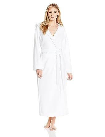 493d81140f HANRO Women s Robe Selection Long Plush Robe with Hood 77304 at ...