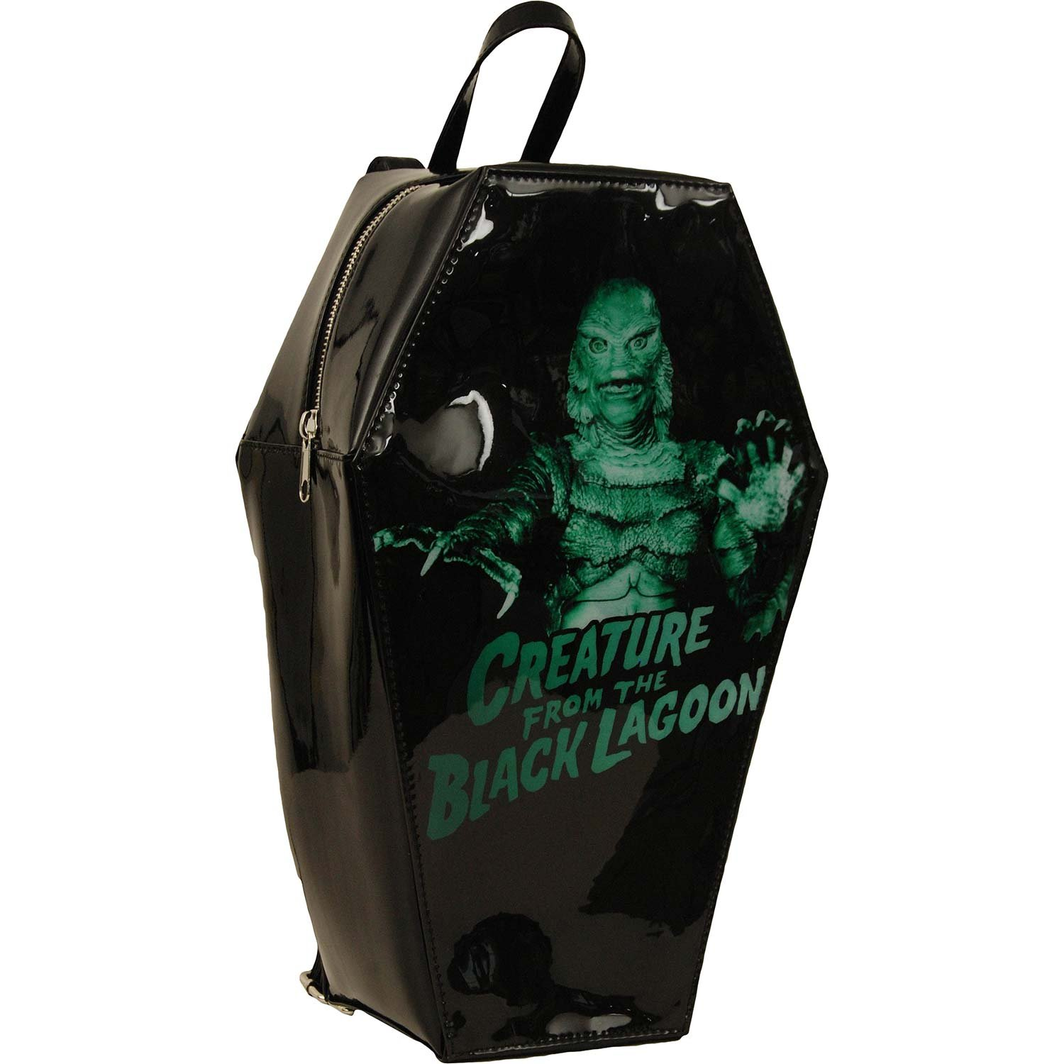 Creature From The Black Lagoon Creature Backpack Black