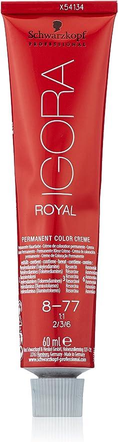 Oferta amazon: Schwarzkopf Professional Igora Royal 8-77 02/13 Tinte - 60 ml