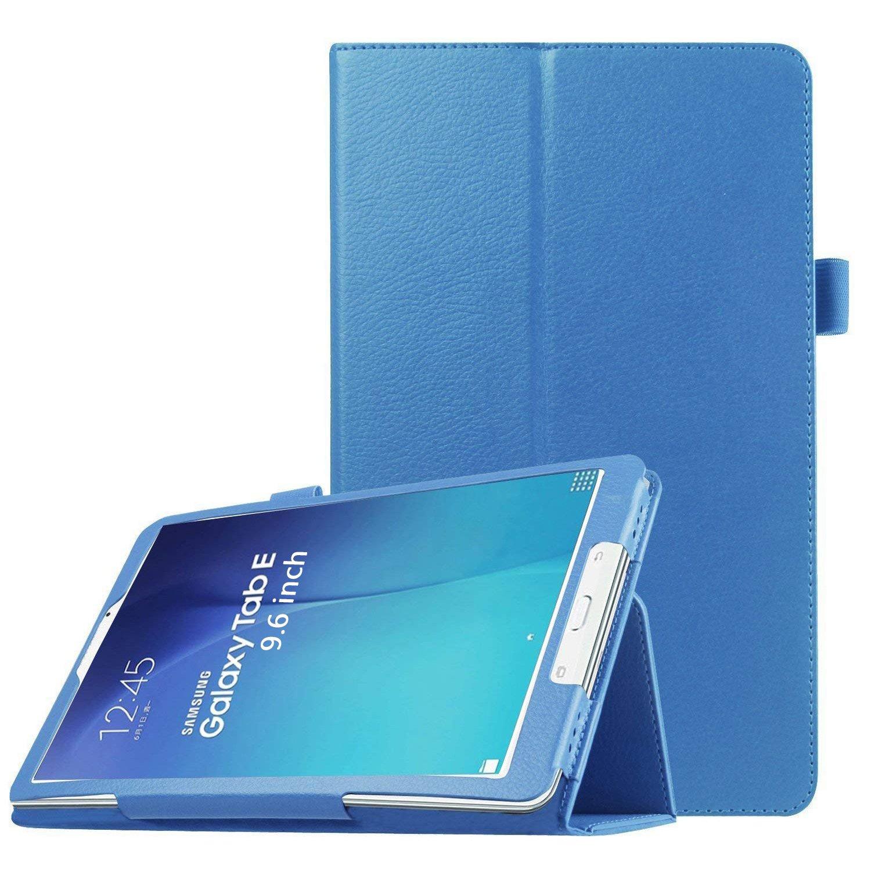 "Samsung Galaxy Tab E 9.6ケース, Peyou超スリムスマートフォリオスタンドケースカバーfor Samsung Galaxy Tab E 9.6 ""タブレット(フィットsm-t560 / t561 / t565 & sm-t567 V Verizon 4 G LTEバージョン, notフィットタブE 8.0インチタブレット ブルー PE111-0065-05 B013HW12OU A - SKY BLUE A - SKY BLUE"
