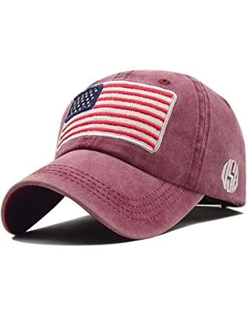 4f999de8ce3 LOKIDVE USA American Flag Baseball Cap Embroidered Polo Style Military Army  Hat