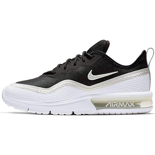 Detalles acerca de Max 95 esencial Nike Air NegroBlanco Sequoia para hombres zapatos para correr 749766 034 mostrar título original