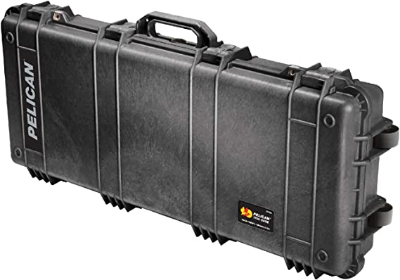 Pelican 1700 - Caja (Negro, 968 mm, 406 mm, 155 mm, 7,7 kg, 908 x 343 x 133 mm): Amazon.es: Informática