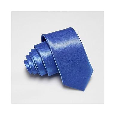 Meaningg-Mnes Tie-2019 Corbatas delgadas para hombres Corbata ...
