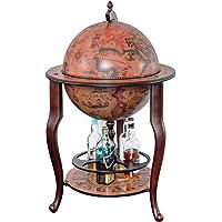 Stilemo Mueble Bar con Globo del Mundo Antiguo