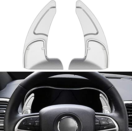Steering Wheel Shift Paddle Shifter Extension Kit For Jeep Grand Cherokee 2014+