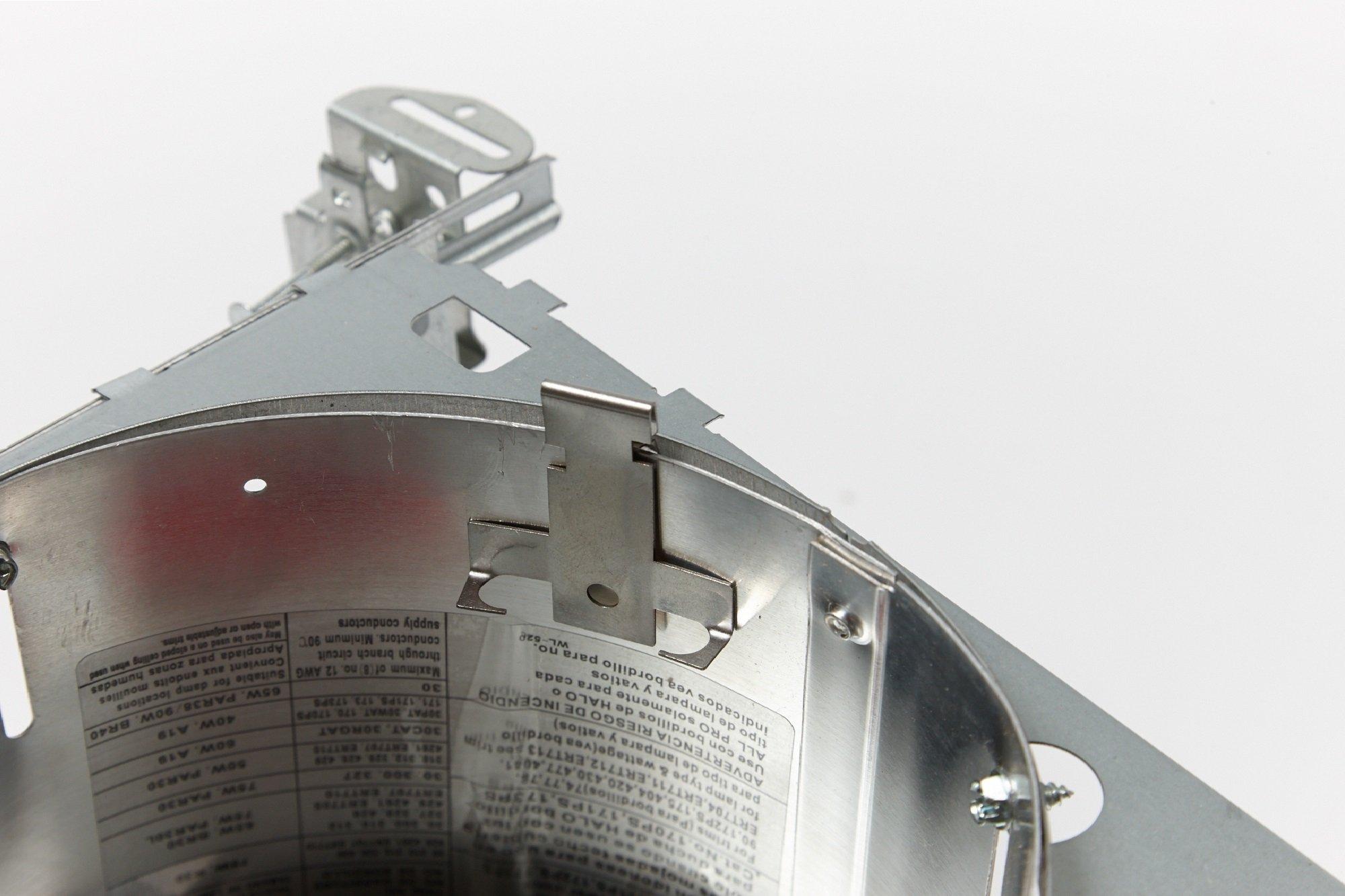 Premium Recessed Light Retrofit C-clips for Downlight   5 Pairs of Premium Recessed Lighting Clips   For 5 or 6 in. Traverse