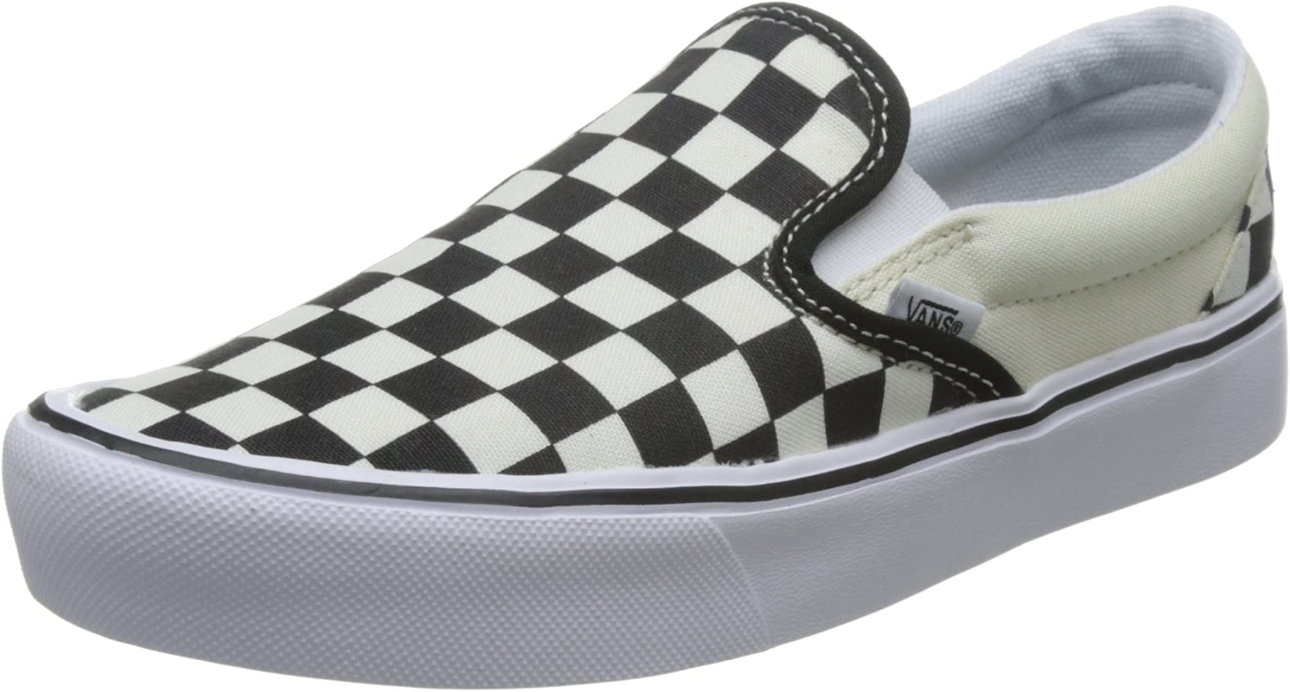 Vans Slip-On Lite - Checkerboard/Black/Classic White - Unisex ...