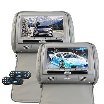 9 Inch Headrest Video Monitor Auto Car DVD Player LCD Digital Screen Backseat