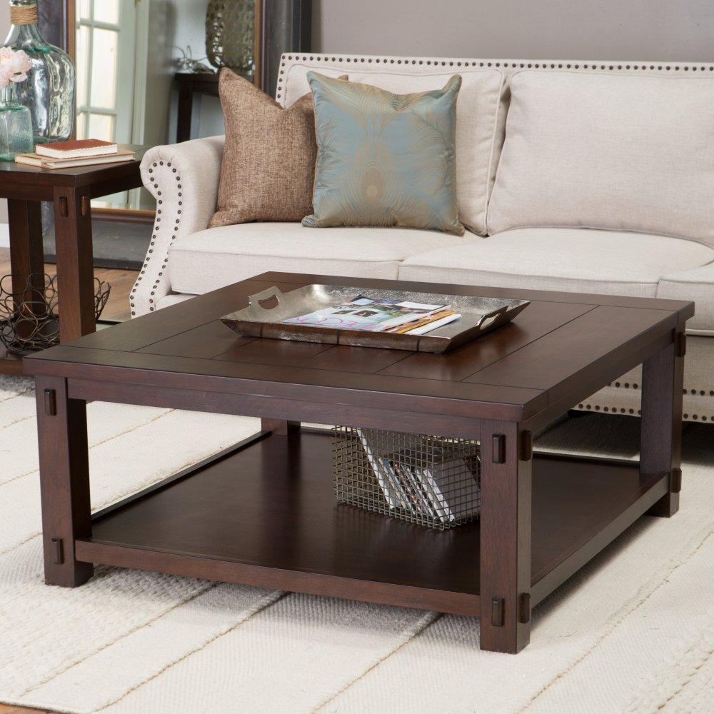 Nice Amazon.com: Belham Living Bartlett Square Coffee Table: Kitchen U0026 Dining