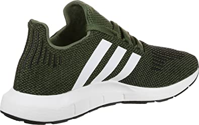 adidas Kinder Swift Run Junior Khaki TextilSynthetik Sneaker