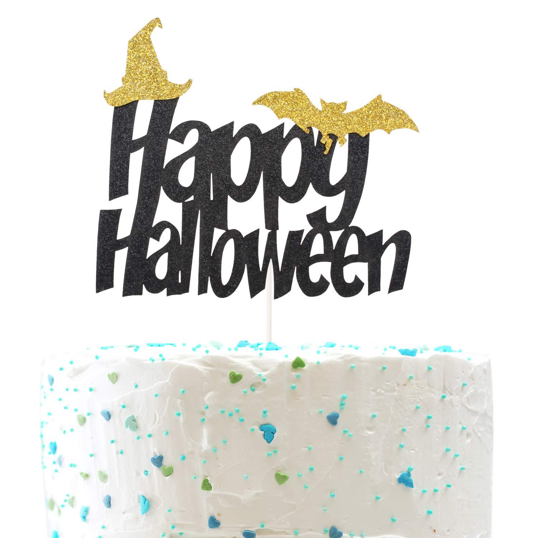 Decoración para tarta de Halloween, sombrero de murciélago y ...
