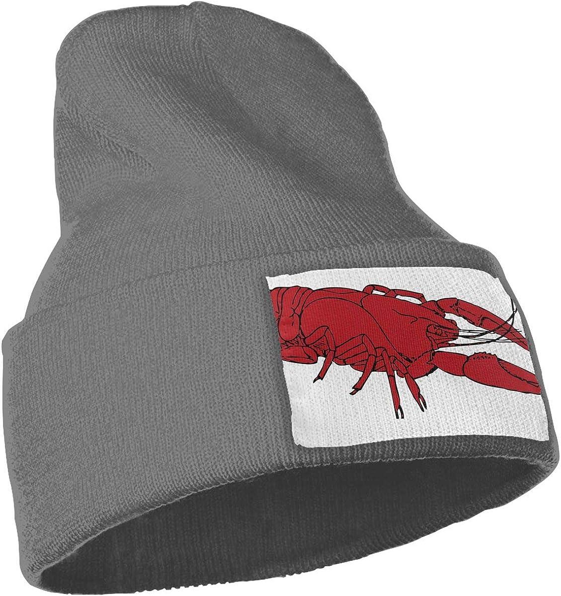 QZqDQ Crawfish Beer Unisex Fashion Knitted Hat Luxury Hip-Hop Cap
