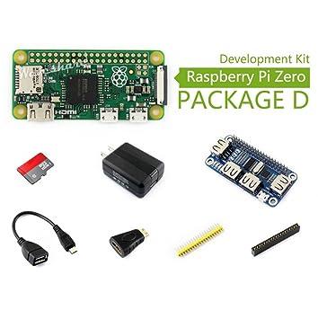Wendi Raspberry Pi Cero (D), con Adaptador de HDMI a HDMI, Cable ...