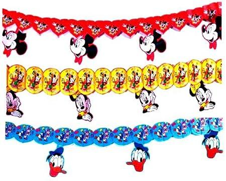 Lote de 10 Guirnaldas Decorativas con Disney a Elegir ...