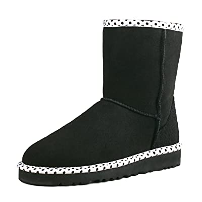 AUSLAND Women's Fashion Midcalf Water Resistant Leather Boot 95325 | Mid-Calf