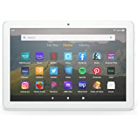 """Fire HD 8 tablet, 8"""" HD display, 32 GB, designed for portable entertainment, White"""
