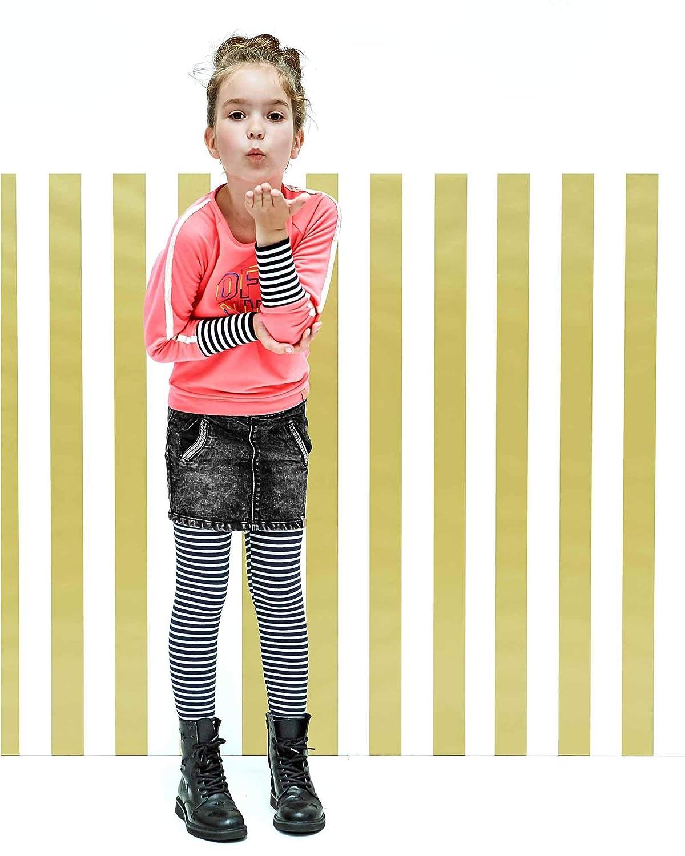 Sizes 6-14 B.Nosy Girls Striped Leggings with Lurex