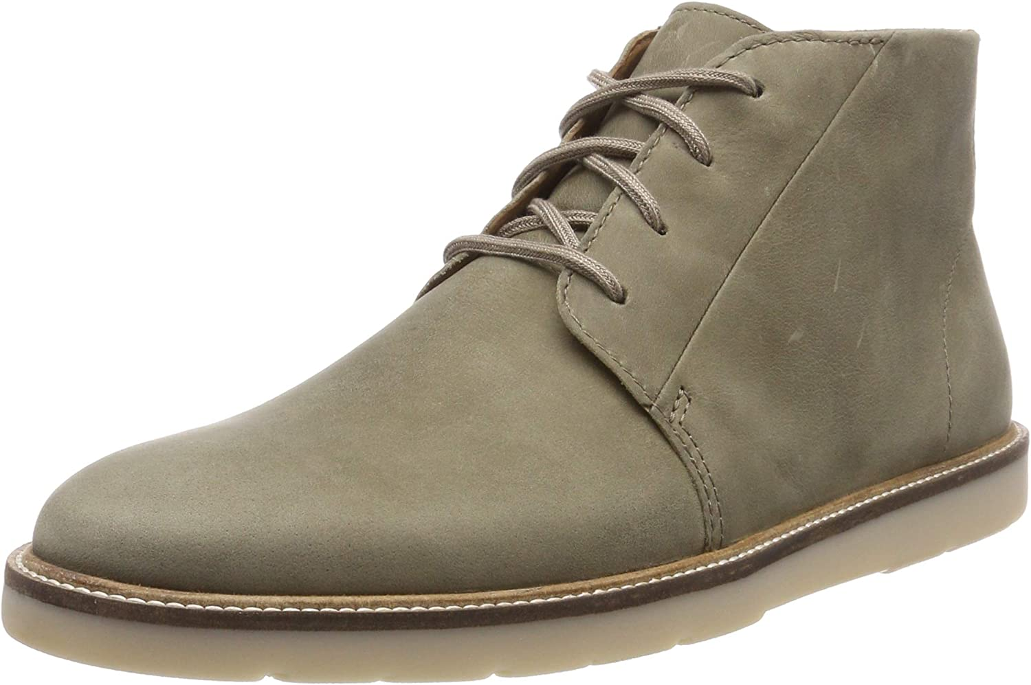 error Sillón Tierra  Clarks Grandin Mid, Men's Chukka Boots, Green (Olive Leather -), 10.5 UK  (45 EU): Amazon.co.uk: Shoes & Bags