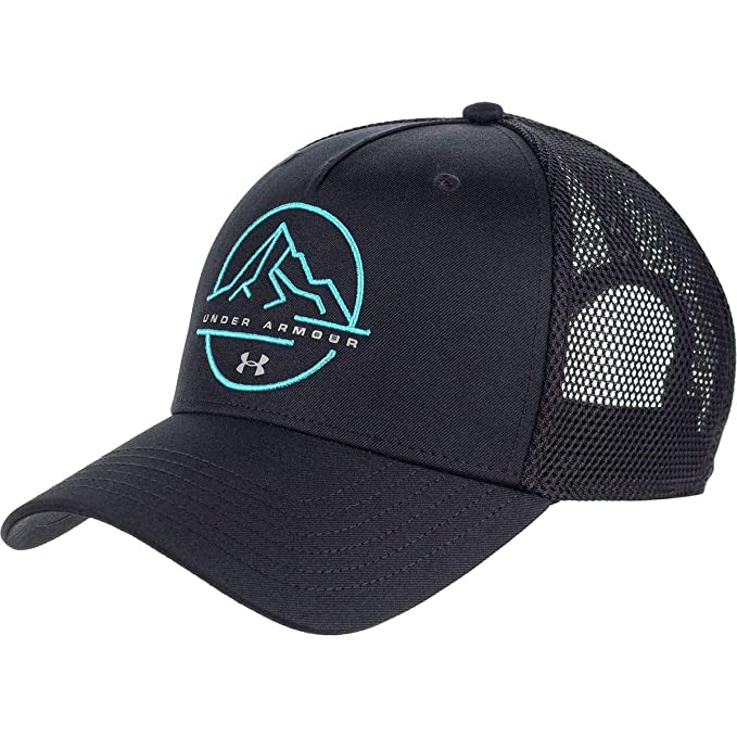 Amazon.com  Under Armour Outdoor Performance Trucker Hat Black 8f677d11235