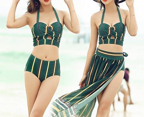 HOMEE Traje de baño Falda de Playa - Summer Lady Bikini Traje de ...